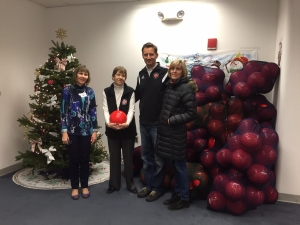 soccer ball donation